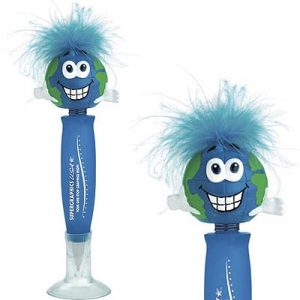 Earth Bobble Head Pens