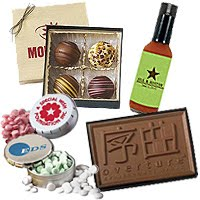 Custom Chocolate and Food Gifts