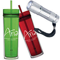 Personalized Tumblers and Custom Flashlights