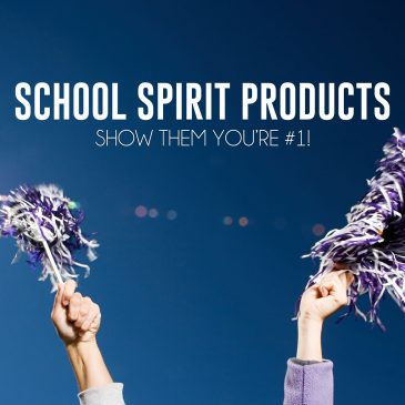 Celebrate Victory with Custom School Spirit Products