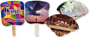 printglobe wholesale church fans logo church fans