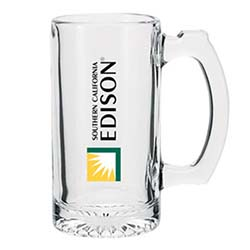 12.5 oz. Glass Beer Mugs