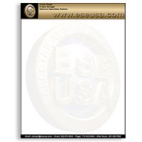 Full Color Letterheads, Budget 4/0