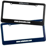 License Plate Frames - 2 Holes with Straight Top
