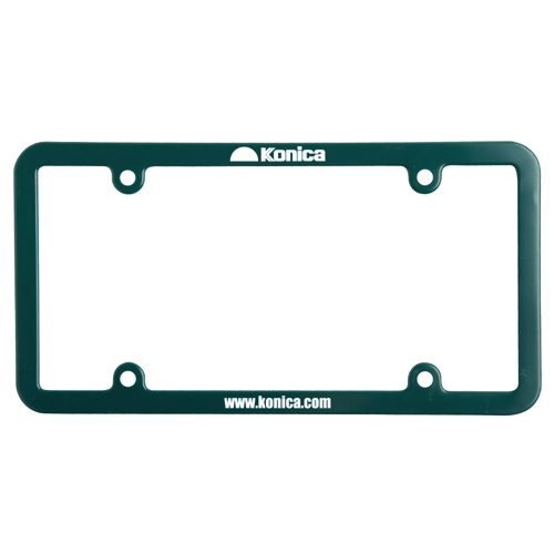 Universal License Plate Frames - 4 Holes