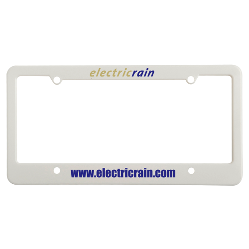 License Plate Frames - 4 Holes with Wide Bottom