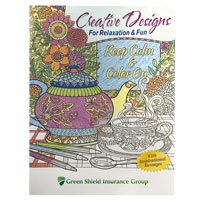Creative Designs Adult Coloring Books