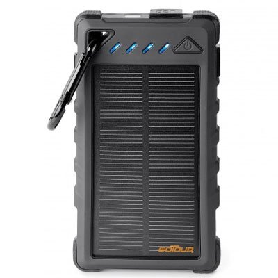 UL Certified 8,000 mAh Solar Power Bank