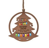 Wooden Ornaments - Tree