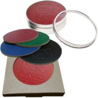 Full Grain Colored Leather Coaster Sets