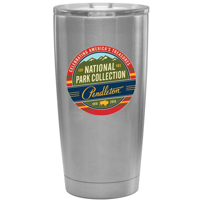 20 oz. Full Color Silver Infinity Vacuum Insulated Tumbler
