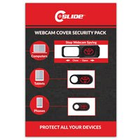 Webcam Cover Security Packs