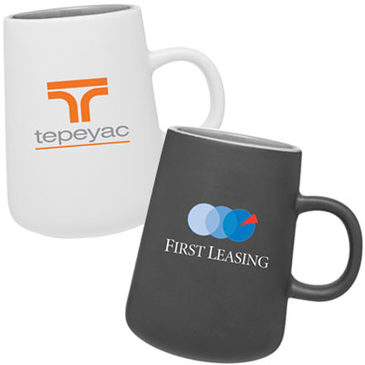 15 oz. Ceramic Matte Coffee Mugs