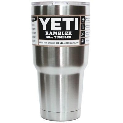 24 Custom 30 oz. YETI® Rambler Tumbler PC402