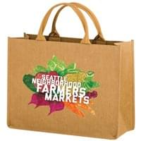 16 x 12 Premium Washable Kraft Paper Fabric Tote Bags
