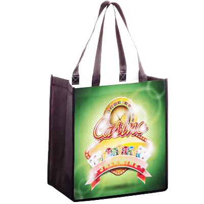12 x 8 Non-Woven PET Sublimated Grocery Bags