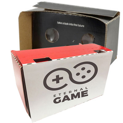 Colored Cardboard VR Viewer