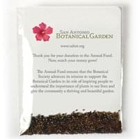 Clear Compostable Cellophane Wildflower Seed Packets