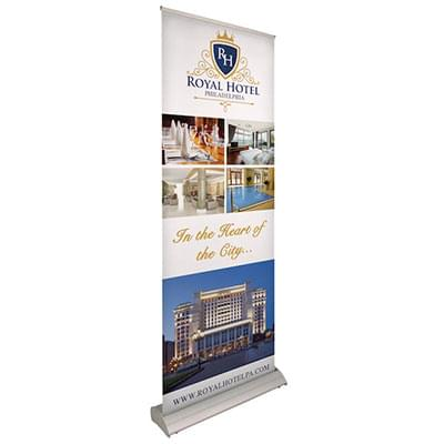 Deluxe Retractable Banners - Small