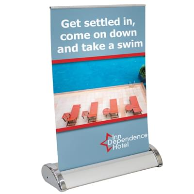 Mini Retractable Banners - Small