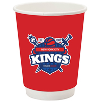 12 oz. Full Color Wrap Double Wall Insulated Paper Cups