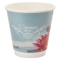 10 oz. Full Color Wrap Double Wall Insulated Paper Cups