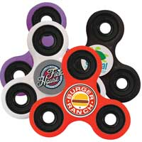 Multicolored Fidget Spinners - 1 Day Rush