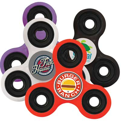Multicolored Fidget Spinners
