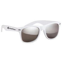 Silver Mirrored Sunglasses