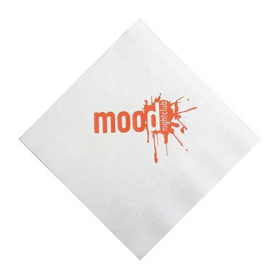 2-Ply White Luncheon Napkins