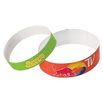 Polyethylene Wristbands - Sheets Of 13