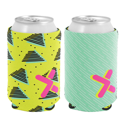 Full Color Reversible Neoprene Can Holders