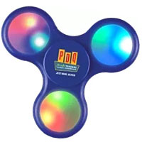 Colored Light-Up Fidget Spinners