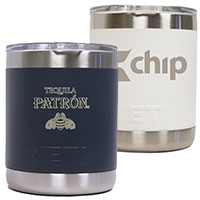 10 oz. Colored YETI Rambler Lowball Tumbler