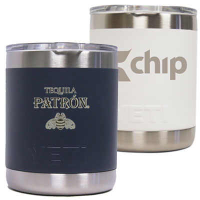 24 Custom 10 oz. Colored YETI® Rambler Lowball Tumbler 1577
