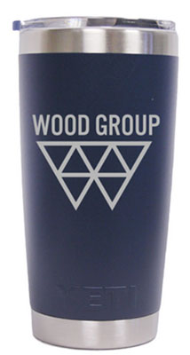 24 Custom 20 oz. Colored YETI® Rambler Tumbler 1000-USA