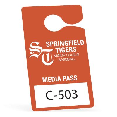 Parking Permit Hang Tags - 3.5 x 6