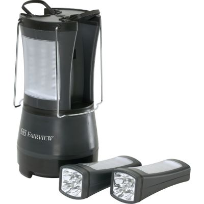 Duo LED Flashlight Lantern Combo