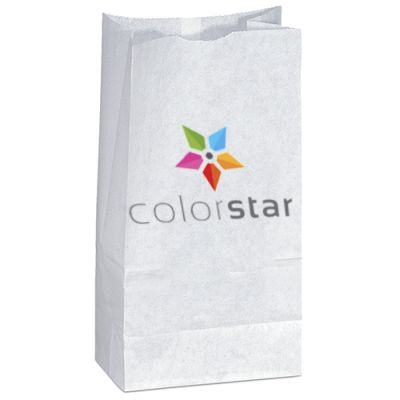 4.75 x 8.75 Full Color White Popcorn Bags