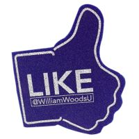 "Foam Hands -  Facebook ""Like"" Shape"