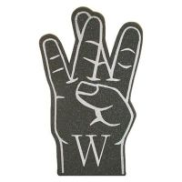 W Sign Foam Hands