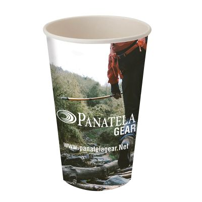 16 oz. Full Color Single Wall Paper Cups