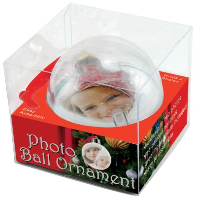 Photo Insert Ornaments With Packaging