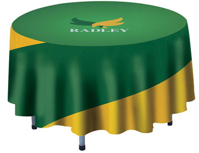 "48"" Round Polyester Poplin Table Covers"