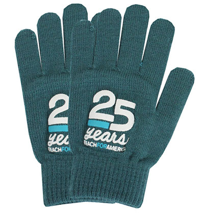 Custom Color Matched Knit Gloves