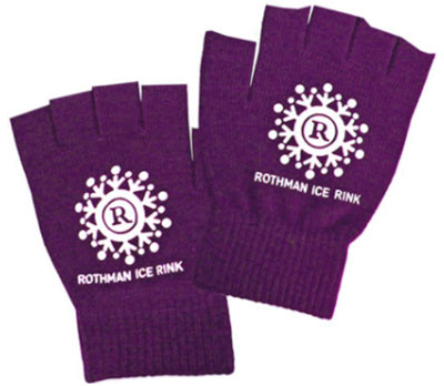 Custom Color Matched Fingerless Knit Gloves