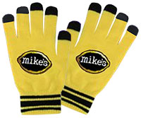 Custom Color Two-Tone Knit Gloves