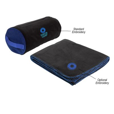 Oversized Fleece Stadium Blankets with Carrying Bag