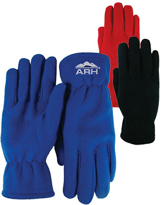 Marketing giveaways fleece gloves