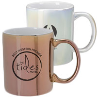12 oz. Iridescent Ceramic Mugs